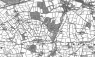 Old Map of Bickleton, 1886 - 1903