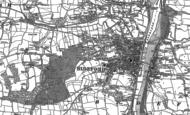 Old Map of Bideford, 1886 - 1887