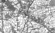 Old Map of Bierley, 1890 - 1892