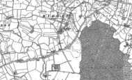 Old Map of Biggin, 1889 - 1890
