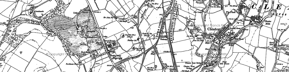 Old map of Whangs in 1923