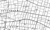 Old Map of Billingborough Fen, 1887