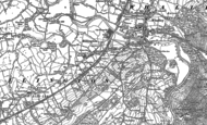 Old Map of Billington, 1892