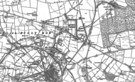Old Map of Billy Row, 1895 - 1896