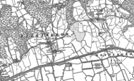 Old Map of Bilsington, 1896