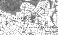Old Map of Bilstone, 1885 - 1901