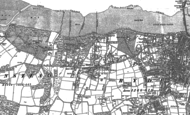 Old Map of Binstead, 1896 - 1907