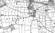 Old Map of Bintree, 1885