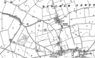 Old Map of Bircham Newton, 1885