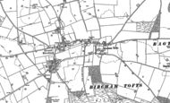Old Map of Bircham Tofts, 1885