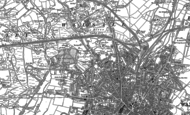 Old Map of Birchills, 1883 - 1885