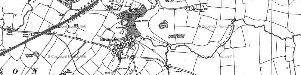 Old map of West View in 1885