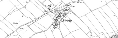 Old map of Birkby centred on your home