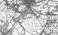 Old Map of Birks, 1892