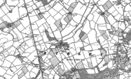 Old Map of Birley, 1886