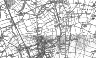 Old Map of Birtley, 1895