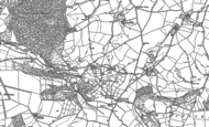 Old Map of Birtley, 1902