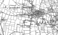 Old Map of Bishop's Cleeve, 1883