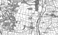 Old Map of Bishop's Court, 1887 - 1888