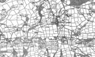 Old Map of Bishop's Nympton, 1886 - 1887