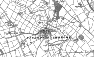 Old Map of Bishop's Tachbrook, 1885