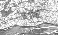 Old Map of Bishopsteignton, 1904