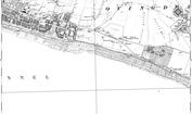 Old Map of Black Rock, 1909