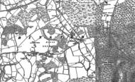 Old Map of Blacknest, 1909