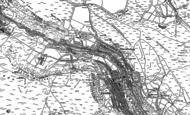 Old Map of Blaenllechau, 1897 - 1898