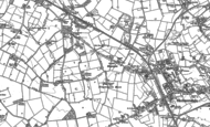 Old Map of Blaguegate, 1891 - 1892