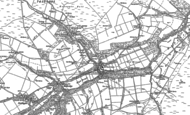 Old Map of Blanchland, 1895 - 1919