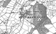 Old Map of Blatherwycke, 1885 - 1900