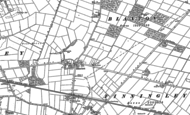 Old Map of Blaxton, 1891 - 1901