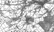 Old Map of Blaydon, 1895 - 1915