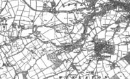 Old Map of Blaydon Burn, 1895 - 1915