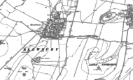 Old Map of Blewbury, 1898