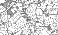 Old Map of Blindley Heath, 1895