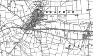 Old Map of Bloxham, 1898 - 1899