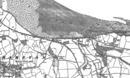 Old Map of Blue Anchor, 1902