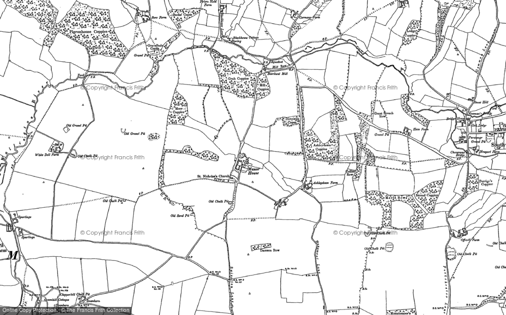 Old Maps of Fort Nelson Francis Frith