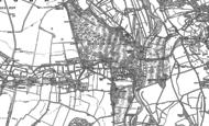 Old Map of Bodenham, 1899 - 1924