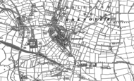 Old Map of Bolsover, 1897