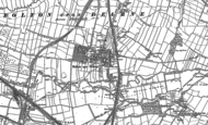 Old Map of Bolton Upon Dearne, 1890