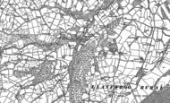 Old Map of Bontuchel, 1898 - 1899