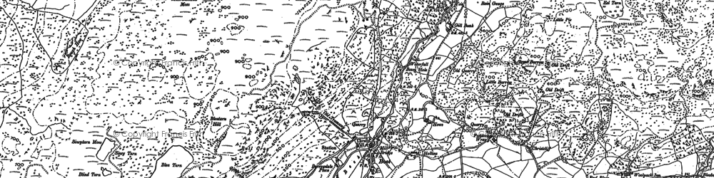 Old map of Whincop in 1897