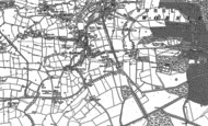 Old Map of Boothstown, 1891 - 1892