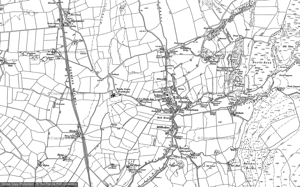 Map of Bootle, 1897