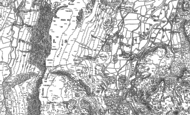 Old Map of Borrowdale, 1898