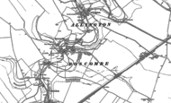 Old Map of Boscombe, 1923