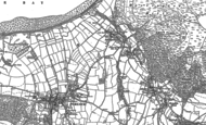 Old Map of Bossington, 1902